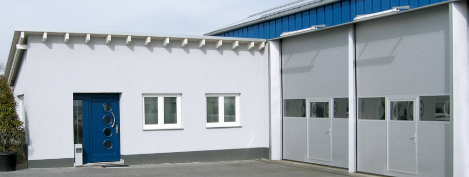 Eingangsbereich der Firma Walter Automobile in Kelkheim