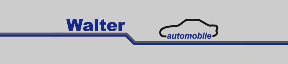 Logo Walter Automobile, Kelkheim